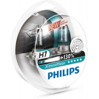 Philips X-tremeVision H7 PX26d 12V 55W
