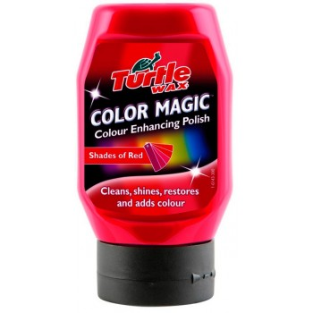 Turtle Wax Color Magic červený autovosk 300 ml