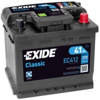 Exide Classic 12V 41Ah 370 A, EC412