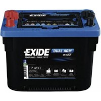 Exide Dual AGM 12V 50Ah 750A, EP450
