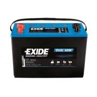 Exide Dual AGM 12V 100Ah 720A, EP900