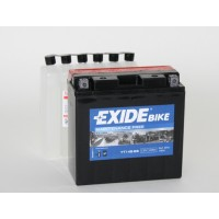 Exide Bike AGM - Maintenance Free 12V 12Ah 135A, YT14B-BS