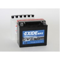 Exide Bike AGM - Maintenance Free 12V 10Ah 150A, YTX12-BS