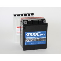 Exide Bike AGM - Maintenance Free 12V 12Ah 210A, YTX14AH-BS