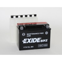 Exide Bike AGM - Maintenance Free 12V 12Ah 210A, YTX15L-BS