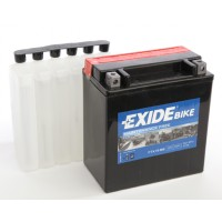 Exide Bike AGM - Maintenance Free 12V 14Ah 215A, YTX16-BS