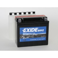 Exide Bike AGM - Maintenance Free 12V 18Ah 270A, YTX20H-BS