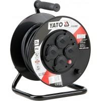 YATO Predlžovací kábel na bubne 20 m