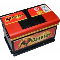 Banner Power Bull 12V 72Ah 660A, P72 09